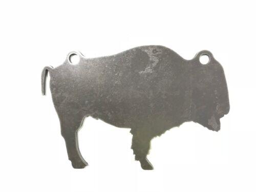 "Ar500 Bison Buffalo Silhouette Animal Steel Target Gong 12/"" X 8/"" X 3//8/"""