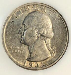 1932-S Washington Quarter Looks BU ! - + - Almost Uncirculated