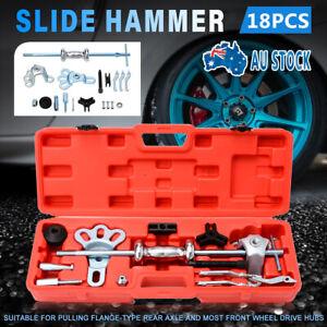 New-Slide-Hammer-Dent-Puller-Tool-Kit-Wrench-Adapter-Axle-Bearing-Hub-Auto-Set