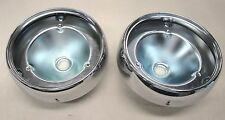 1953 53 FORD CAR TAILLIGHT CHROME BODY PAIR   NEW