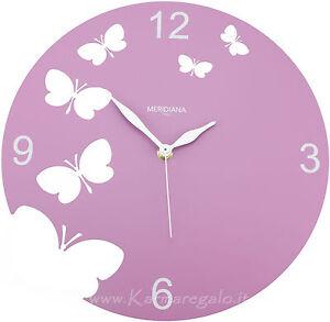 DIAMANTINI E DOMENICONI - Orologio da parete Butterfly | eBay