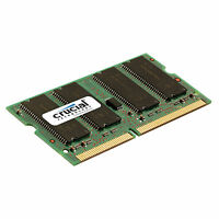 Crucial 512mb Ddr Pc2700 333 Mhz 200pin Non-ecc Cl 2.5 Sodimm Laptop Memory Ram