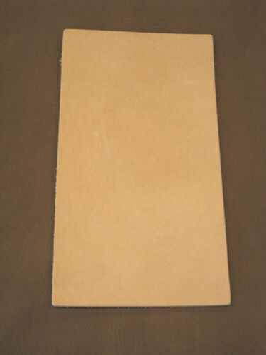 7-8 oz Veg Tan Cowhide Tooling Leather for Sheaths Holster Moccasin Soles Strops