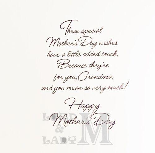Gran Grandma Great-Gran etc Mother/'s Day Card Nanna Various Designs