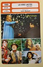 US Movie The Milky Way Luis Bunuel Paul Frankeur French Film Trade Card