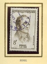 STAMP / TIMBRE FRANCE OBLITERE N° 1142 / CELEBRITE / PHILIPPE PINEL