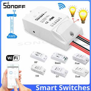 Sonoff-Smart-Home-Interruttore-Wireless-WiFi-modulo-monitor-per-IOS-Android-App-CTRL