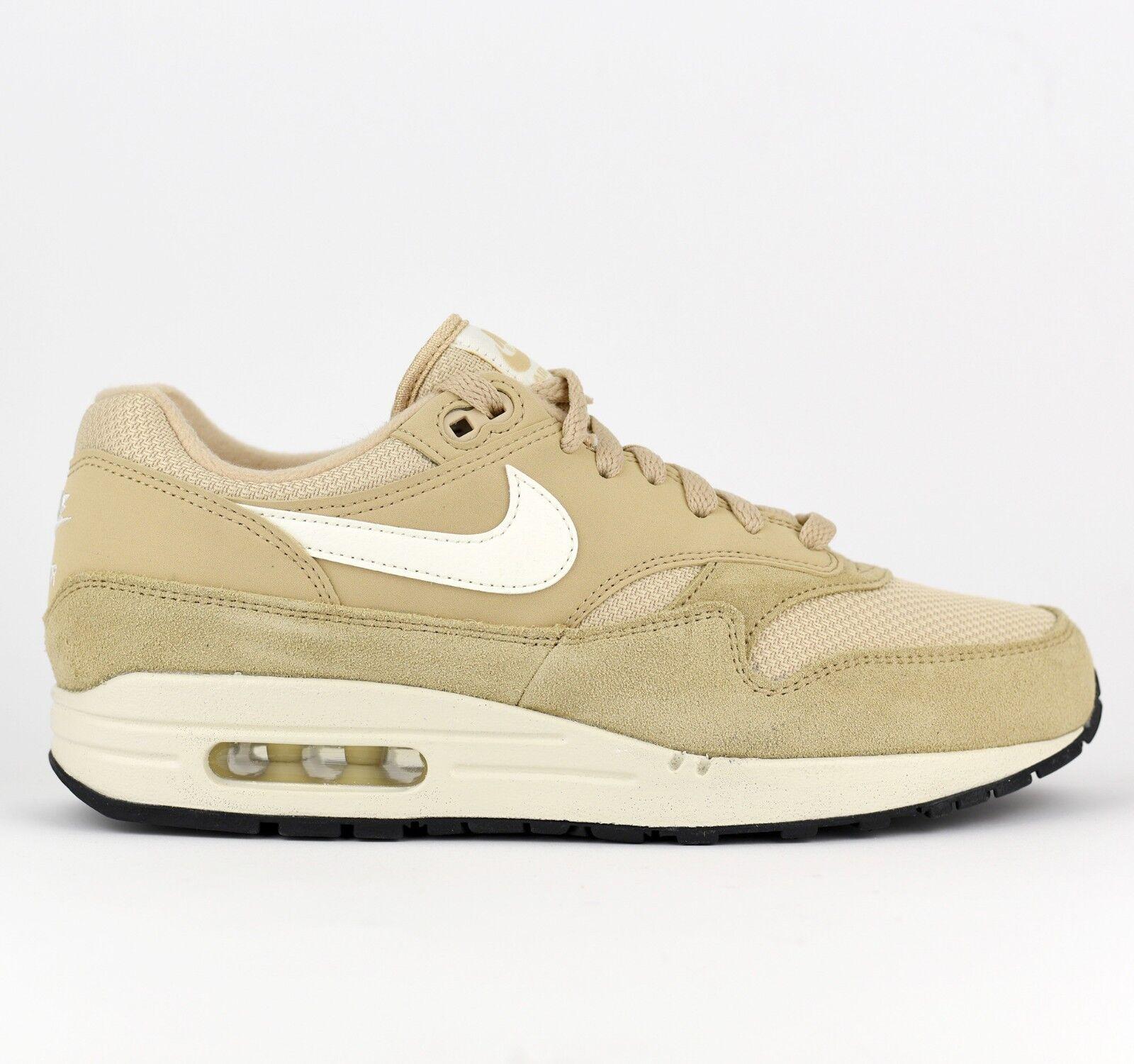 Nike Air Max 1 Men Lifestyle Sneakers shoes New Desert Ore Sail AH8145-202