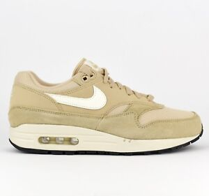 Details about Nike Air Max 1 Men Lifestyle Sneakers Shoes New Desert Ore Sail AH8145 202