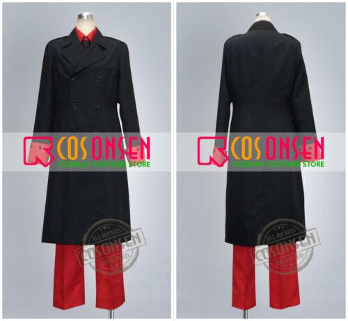 Cosonsen APH Axis Powers Hetalia Denmark Cosplay Costume Black Red Halloween Cos