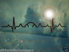 New Beetle pulso de heartbeat COCHE STICKER/DECAL * Dubs * Volkswagen * VAG * EURO * Vdub * VW *