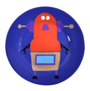 ROBOTS-Para-Cenas-Melamina-Plato-de-postre-20cm-20-3cm-diametro