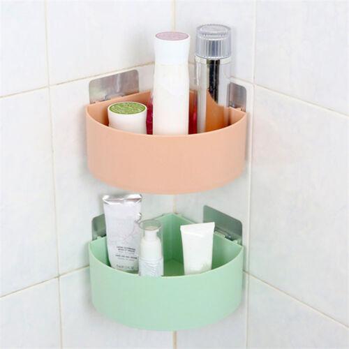 Plastic Shampoo Organizer Bathroom Shelf  Corner Storage Rack Shower Holder
