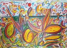 AMARAL Antonio Henrique Lithographie Originale Signée abstraction Brésil