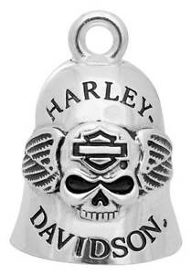 Campanella Porta Fortuna Ride Bells Bell Teschio Harley Davidson Portafortuna HD