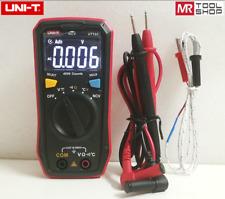 Uni T Ut123 Mini Digital Multimeter Ac Dc Volt Ohm Temp Ncv Tester Ebtn Screen