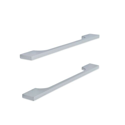 Polished Chrome Finish Slimline Cut Out Handles 192mm for Doors and Cabinets