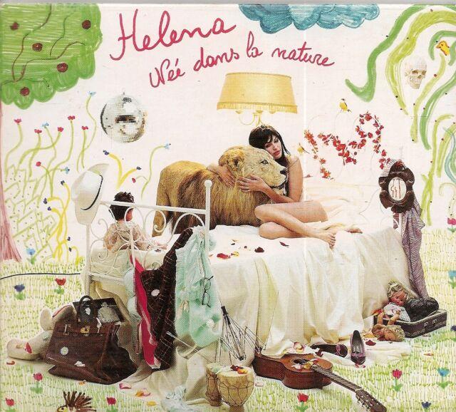 CD ALBUM DIGIPACK 12 TITRES--HELENA--NEE DANS LA NATURE--2004