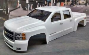 Custom-Painted-Body-Silverado-2500-HD-For-1-10-RC-Monster-Truck-Traxxas-Stampede