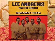 Lee Andrews and The Hearts BIGGEST HITS Lost Nite Records LP LP-101