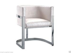Image Is Loading Arm Chair Modern Dining Room Polished