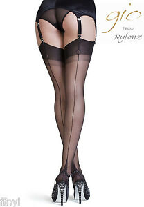 89778abb2 Gio Fully Fashioned Stockings - POINT Heel - PERFECTS   All Colours ...