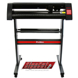 Vinyl-Cutter-Plotter-28-inch-Business-Sign-Sticker-Cutting-Making-SignCut-Pro