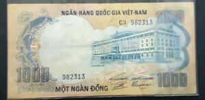 1972 South Vietnam 1000 Dong Note---Crisp Gem Unc
