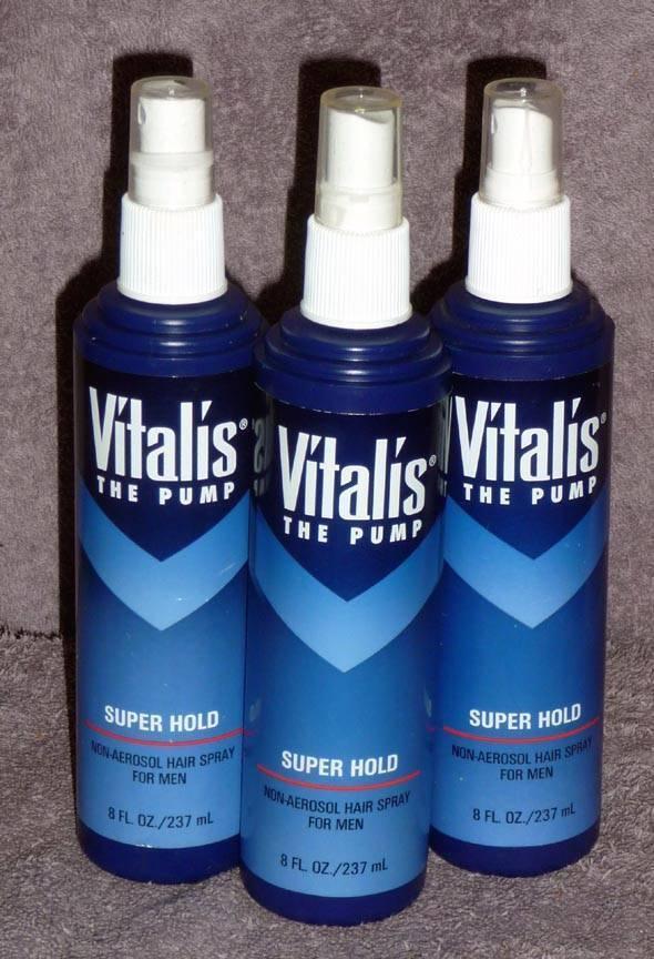 12 Vitalis The Pump Non Aerosol Hair Spray Super Hold For Men 8 Oz Nos Ship For Sale Online Ebay