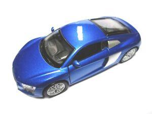 Audi-r8-coche-deportivo-maqueta-de-coche-metal-DIECAST-11-CM-Welly-Nex-Model