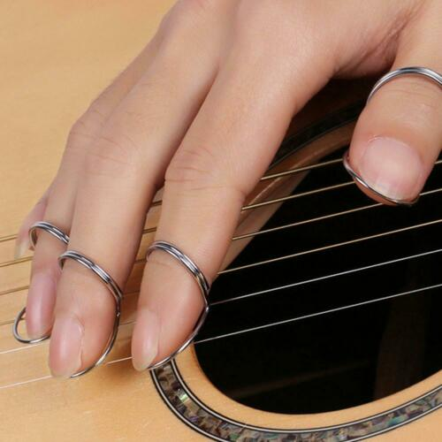 4Pcs Butterly Finger Picks Nagel Acoustic Classical Guitar Picks Plektrum Set
