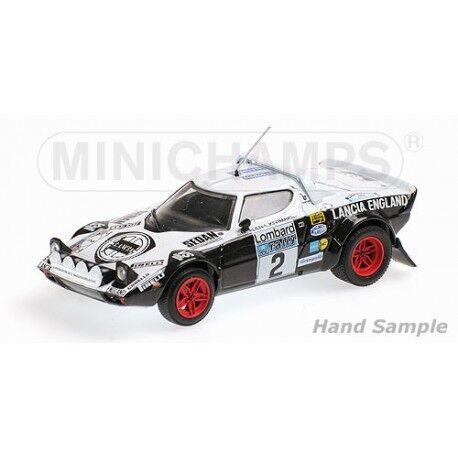 Minichamps Lancia Stratos 2 RAC Rally Rally Rally 1979 Al  1 43 430791202 39976d