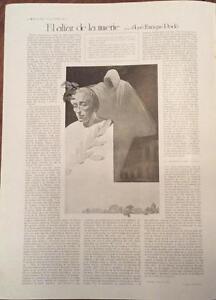 100% Vrai Coupure De Presse El Altar De La Muerte José Enrique Rodó 1917