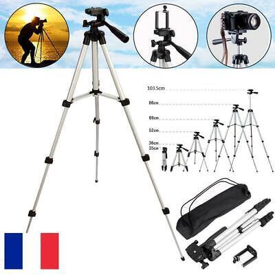 Pro Trépied Support pour Caméra Appareil Photo Smartphone Holder Sac 35-103.5cm
