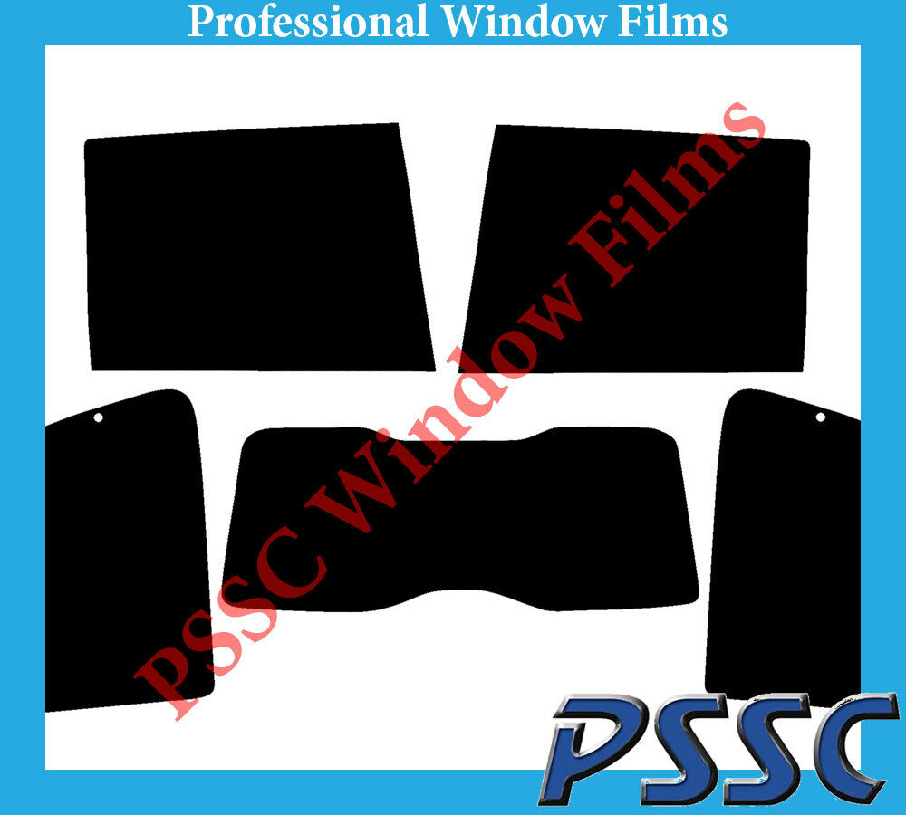 PSSC Pre Cut Rear Car Window Films - Fiat Ulysse MPV 2002 to 2011