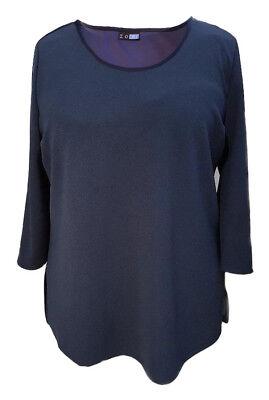 Plus sizes Dark Navy curves Tunic Tops  16.18//20.22//24.26//28.30//32 34//36 Sofo UK