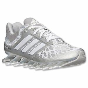 f64ce55a51a6 Image is loading Adidas-Springblade-Drive-W-Running-Shoes-White-Silver-