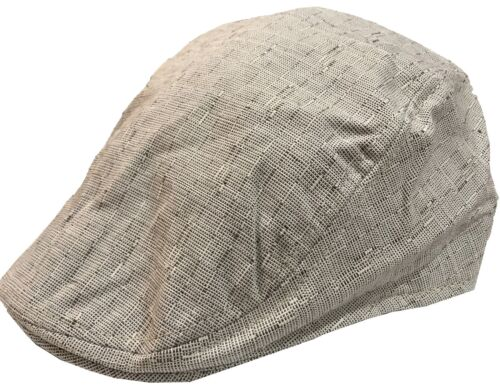 Men/'s Linen Flat Ivy Gatsby Summer Newsboy Hats