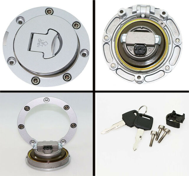 Fuel Gas Tank Cap Cover Lock Key For Honda CBR 600 900 1000 RR CB CBF VFR MC NC