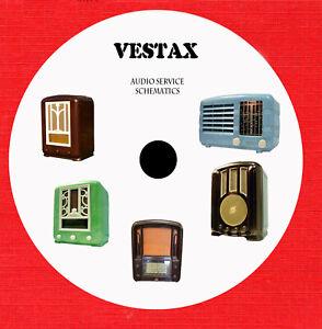 Details about VESTAX Audio Repair Service schematics on 1 cd in pdf format