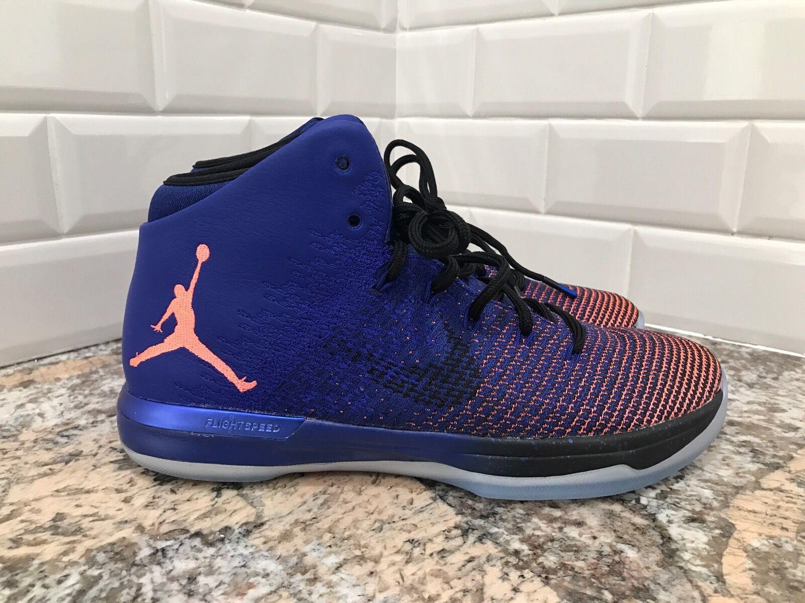 Nike Air Jordan XXXI 31 Supernova Concord Mango AJ31 Men's SZ 8 845037-400