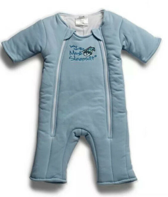 Baby Merlin's Magic Sleep Suit Small 3 to 6 Months Blue ...