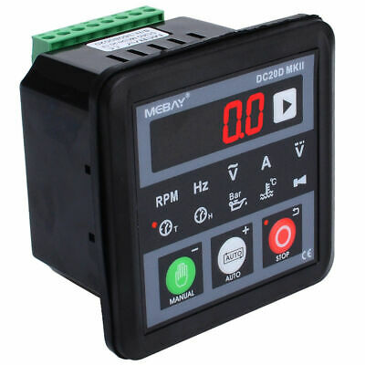 BoTaiDaHong DC20D Generator Controller Upgrade for Diesel//Gasoline Engine Generator+Cable Micro-Computer Control