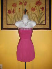 NWT Flirty Fuchsia Guess Strapless Mini Dress Size 5