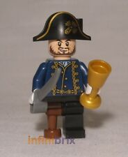 Lego Hector Barbossa with Pegleg from Set 4192 Fountain of Youth Pirates poc028