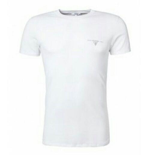Shirt Guess T Brand Top Homme New Blanc Noir Ou gXO1w4dv