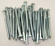 250 Hot Dip Galvanized 5//16x3-1//2 Hex Lag Screws The best fasteners