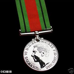 Defensa-Medalla-Tamano-Normal-MILITAR-PREMIO-Ww2-Repro-para-non-operational