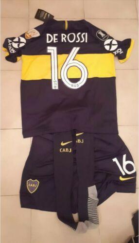 Maglia+Pantaloncino+Calzettoni Boca Juniors De Rossi #16