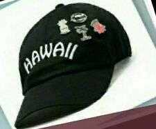 Victoria's Secret PINK Baseball Hat Hawaii Cap Black PINS NWT SOLD OUT Pineapple